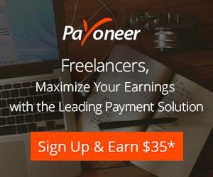 payoneer $35 promo code