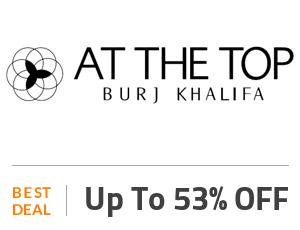 at the top burj khalifa tickets coupon logo