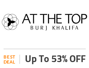 20% OFF At The Top Burj Khalifa Coupon Code (Tickets Discount Offers)